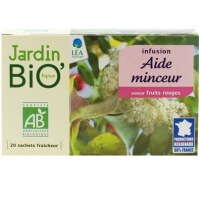 French Click Jardin Bio Infusion Aide Minceur Fruits Rouge 20