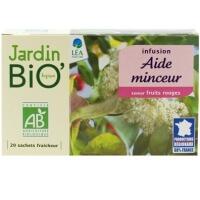 bio jardin bio aide minceur organic infusion 20 tea bags 30g - Jardin Bio
