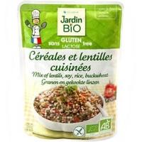 French Click Jardin Bio Cereales Et Lentilles Cuisin 233 Es Sans