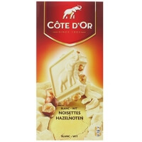 French Click Cote D39or Chocolat Blanc Noisettes Enti