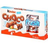 Calendrier De Lavent Kinder 343 G.French Click Kinder Choco Fresh X5 105g