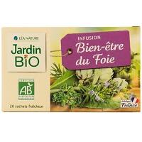 French Click Jardin Bio Infusions Bien 234 Tre Du Foie X20 28g